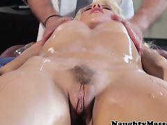 Clandestine massage time for Anikka Albrite