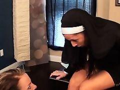 nun's feet