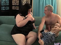 Plumper Holly Jayde gets fucked from behind