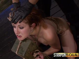 slave is tied to the wall