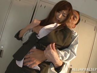 japanese daddy has her clothes ripped off