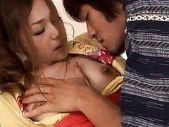 Asian sweetheart give cock engulfing pleasures