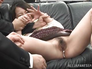 eastern babe obtains exposed by hungry boss