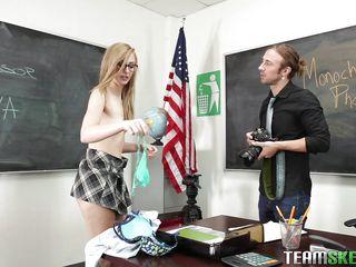 teen schoolgirl fucked by horny professor