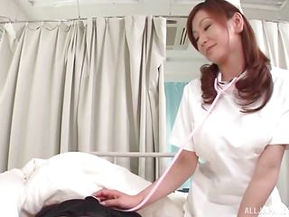 the nurse will make him tang all larger