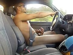 Driving As was born Jacking Off!!!