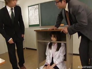 japanese daddy fucked by students