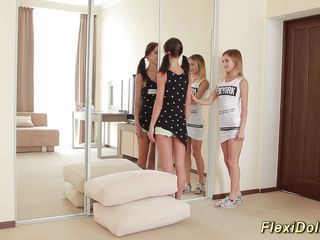 workable real youthful doll gets stretched