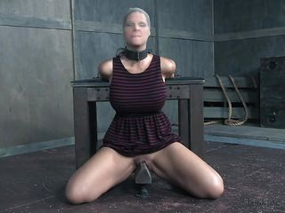 syren is collared and discomfited in the play apartments