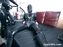 Girl in latex gets her hot sexy body part6