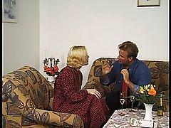 First fuck in senior residence - erster Fick im Altersheim