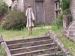 Cheating wife sucks and fucks in secret location