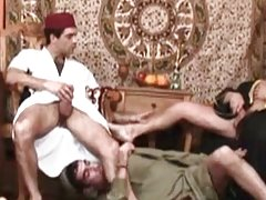 Three arabian dicks in the gay playhouse
