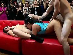 Wild stripper party