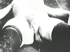 Vintage hard penis percussion
