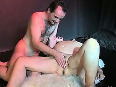 Merciless mature is fingered by young guy part5